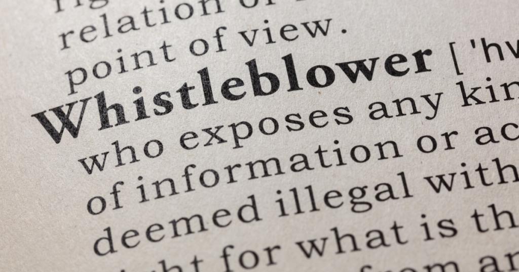 whistleblower rights