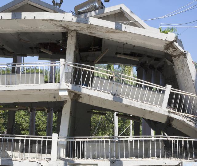 earthquake damage claim